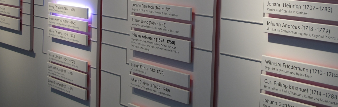 Hier erhalten Sie Informationen zu den wichtigsten Vertretern der Musikerfamilie Bach