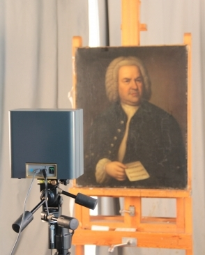 Portrait of J. S. Bach. Photo: Bach-Archiv Leipzig