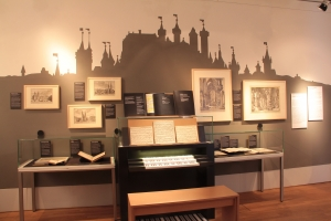 "View of the special exhibition ""Bach Nuremberg Style"""