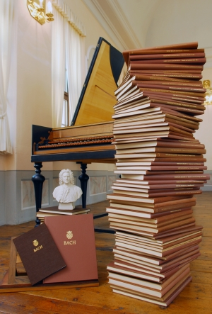 New Bach Edition. Photo: Leipzig Bach Archive